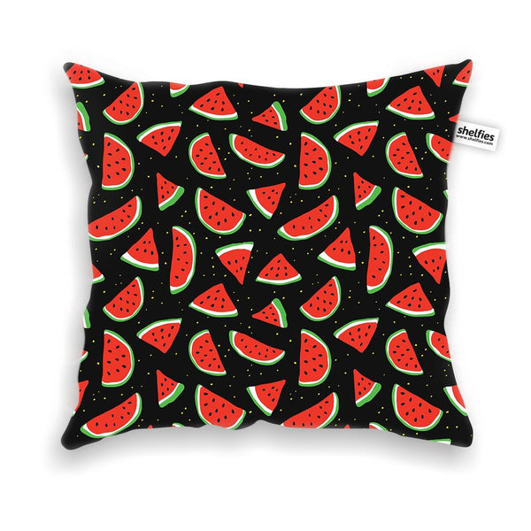 Watermelon Life Throw Pillow Case-Shelfies-| All-Over-Print Everywhere - Designed to Make You Smile