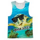 Whoa Dude! Tank Top-kite.ly-| All-Over-Print Everywhere - Designed to Make You Smile