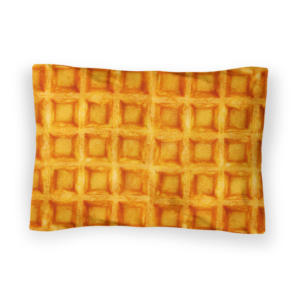 Waffle Invasion Bed Pillow Case-Shelfies-| All-Over-Print Everywhere - Designed to Make You Smile