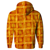 Waffle Invasion Hoodie-Subliminator-| All-Over-Print Everywhere - Designed to Make You Smile