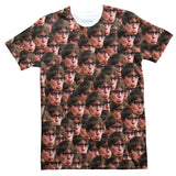 Your Face Custom T-Shirt-Shelfies-| All-Over-Print Everywhere - Designed to Make You Smile