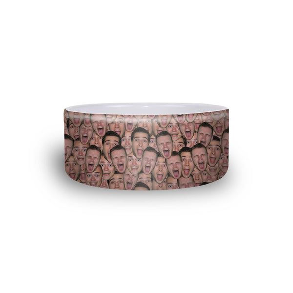 Your Face Custom Pet Bowl-Shelfies-One Size-| All-Over-Print Everywhere - Designed to Make You Smile