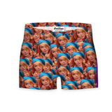 Your Face Custom Workout Shorts-Shelfies-| All-Over-Print Everywhere - Designed to Make You Smile