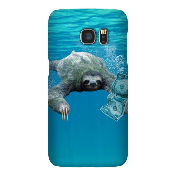 Nirvana Sloth Smartphone Case-Gooten-Samsung Galaxy S7-| All-Over-Print Everywhere - Designed to Make You Smile