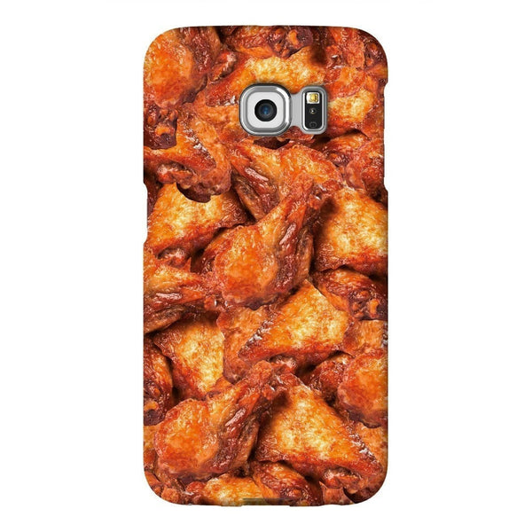 Chicken Wings Invasion Smartphone Case-Gooten-Samsung S6 Edge-| All-Over-Print Everywhere - Designed to Make You Smile