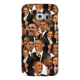 Barack Obama Face Smartphone Case-Gooten-Samsung S6 Edge-| All-Over-Print Everywhere - Designed to Make You Smile