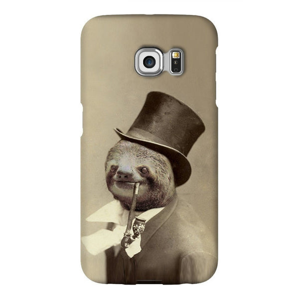 Old Money Flows Sloth Smartphone Case-Gooten-Samsung S6 Edge-| All-Over-Print Everywhere - Designed to Make You Smile
