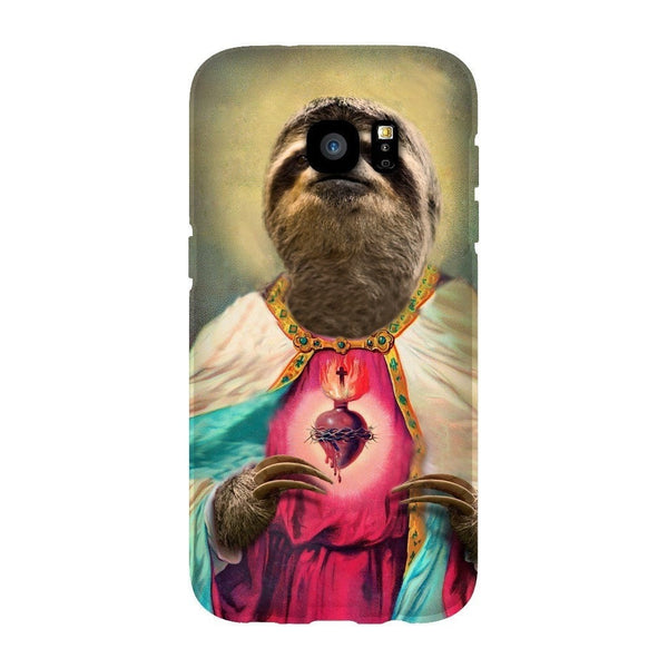 Sloth Jesus Smartphone Case-Gooten-Samsung S7 Edge-| All-Over-Print Everywhere - Designed to Make You Smile