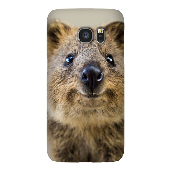 Quokka Face Smartphone Case-Gooten-Samsung S7-| All-Over-Print Everywhere - Designed to Make You Smile