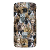 Scaredy Cat Invasion Smartphone Case-Gooten-Samsung Galaxy S7-| All-Over-Print Everywhere - Designed to Make You Smile