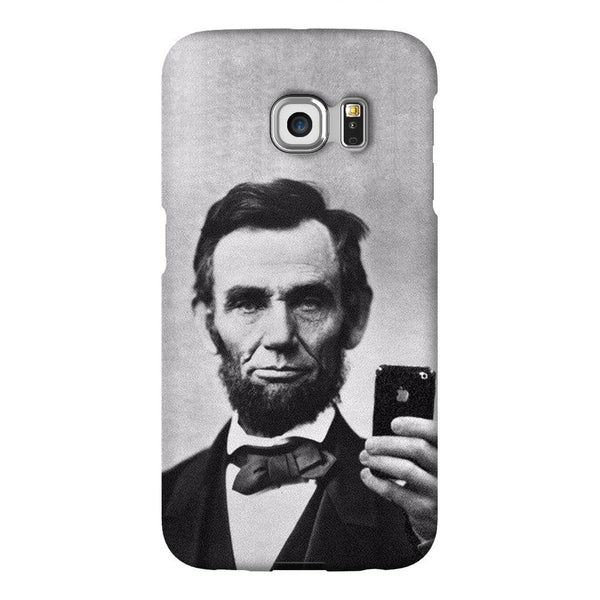 Abraham Lincoln Selfie Smartphone Case-Gooten-Samsung S6 Edge-| All-Over-Print Everywhere - Designed to Make You Smile