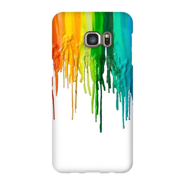 Melted Crayon Smartphone Case-Gooten-Samsung S6 Edge Plus-| All-Over-Print Everywhere - Designed to Make You Smile
