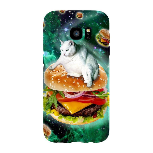 Hamburger Cat Smartphone Case-Gooten-Samsung Galaxy S7 Edge-| All-Over-Print Everywhere - Designed to Make You Smile