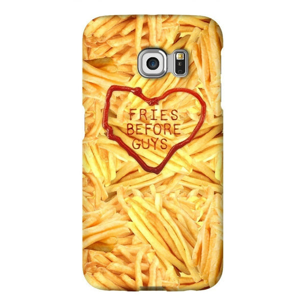 Fries Before Guys Smartphone Case-Gooten-Samsung S6 Edge-| All-Over-Print Everywhere - Designed to Make You Smile