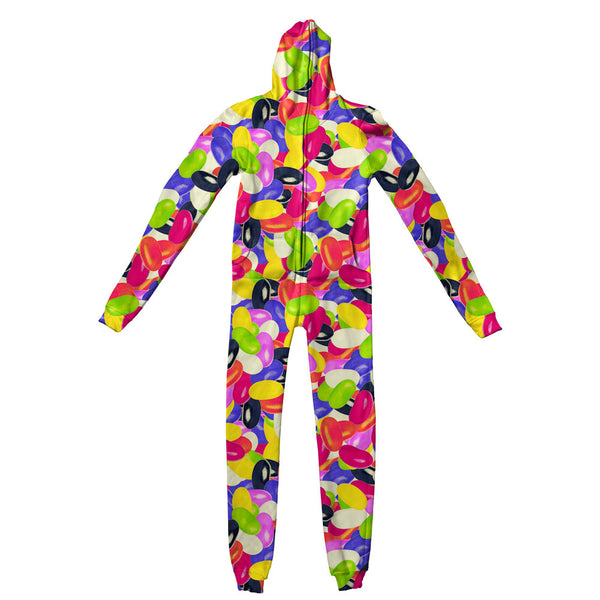 Candybean Invasion Adult Jumpsuit-Shelfies-S-| All-Over-Print Everywhere - Designed to Make You Smile