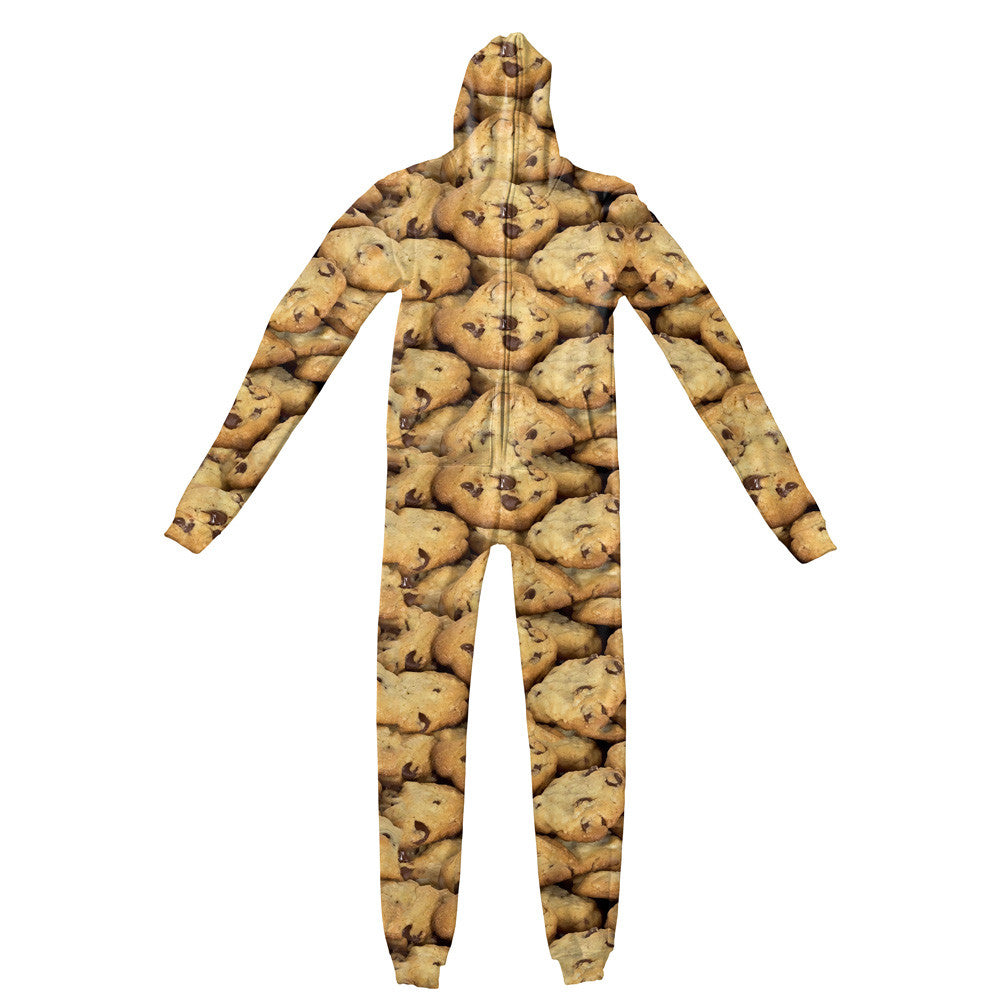 Cookies Invasion Adult Jumpsuit-Shelfies-| All-Over-Print Everywhere - Designed to Make You Smile
