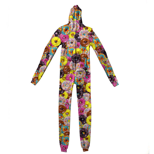 Donuts Invasion Adult Jumpsuit-Shelfies-S-| All-Over-Print Everywhere - Designed to Make You Smile