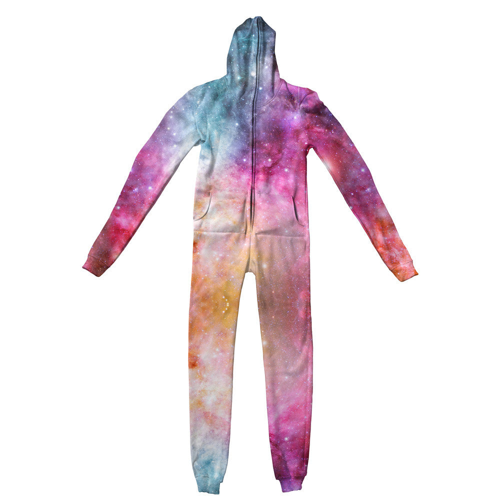 Galaxy Love Adult Jumpsuit - Shelfies | All-Over-Print Everywhere - Designed to Make You Smile