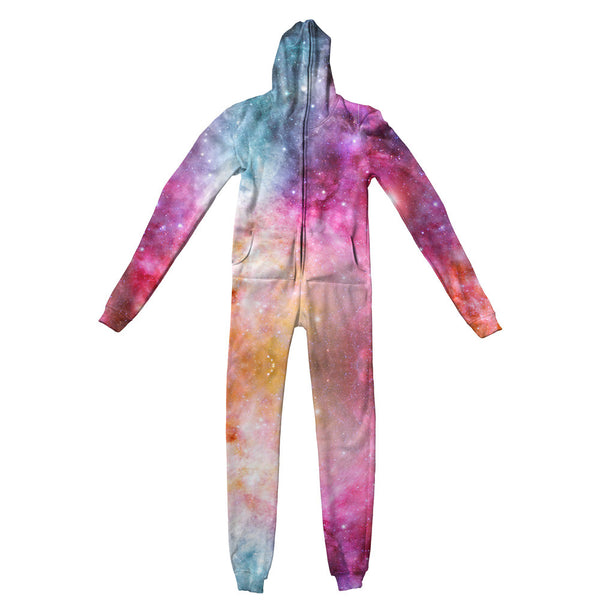 Galaxy Love Adult Jumpsuit-Shelfies-| All-Over-Print Everywhere - Designed to Make You Smile