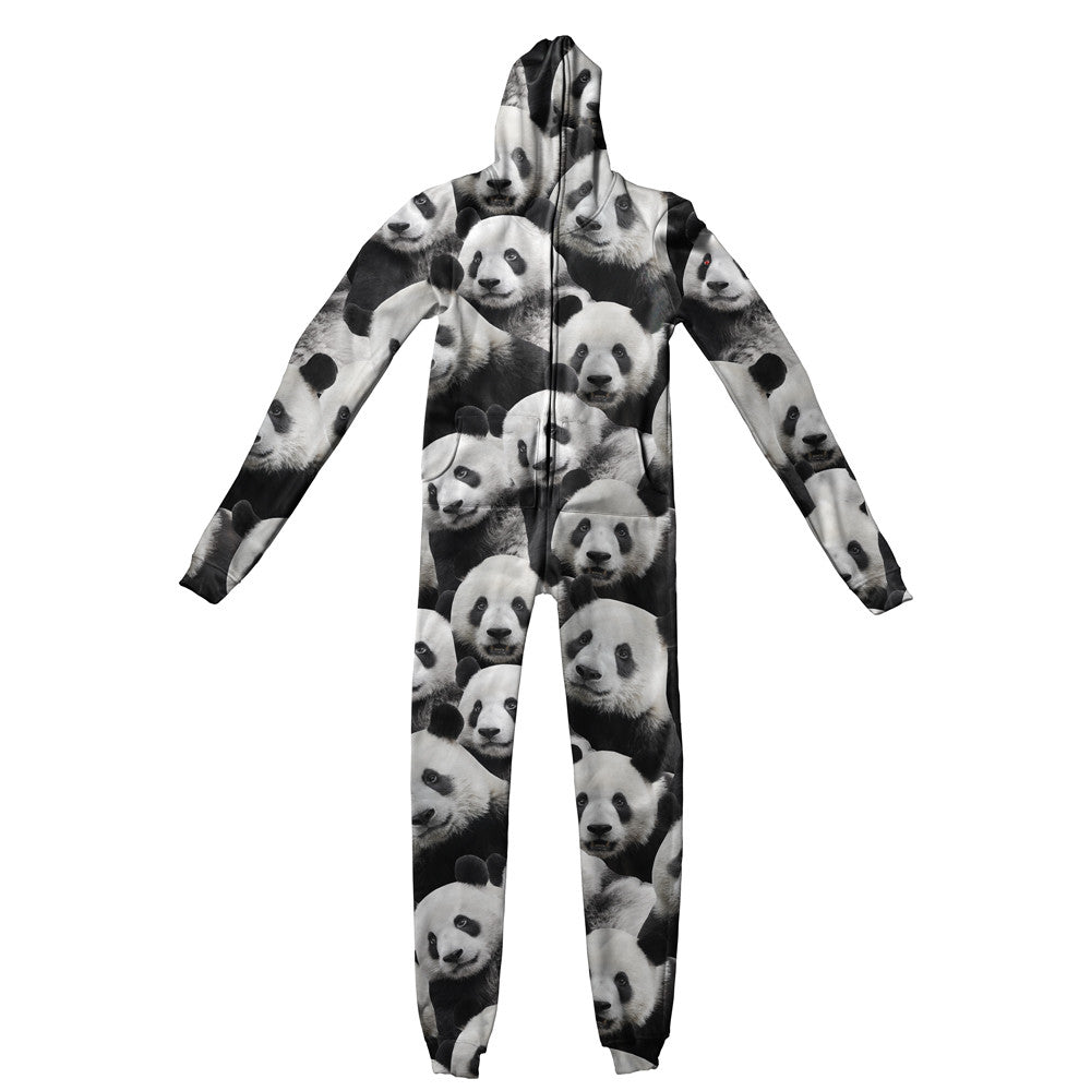 Adult Jumpsuits - Panda Invasion Adult Jumpsuit