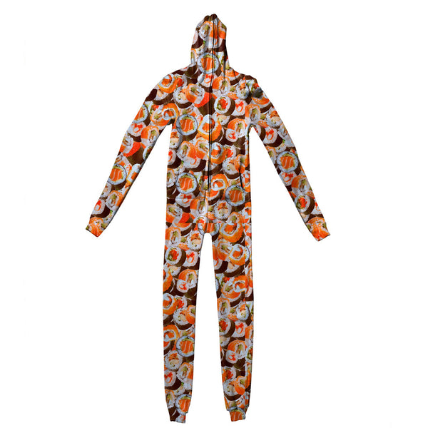 Sushi Invasion Adult Jumpsuit-Shelfies-S-| All-Over-Print Everywhere - Designed to Make You Smile