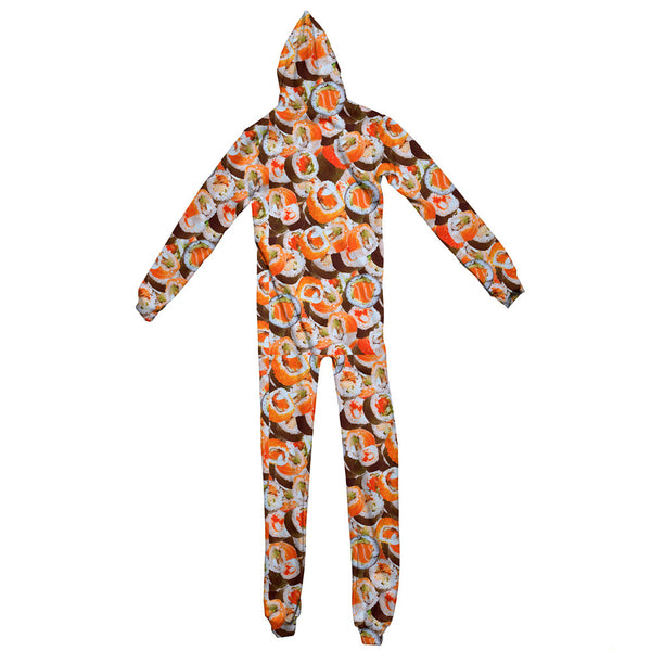 Sushi Invasion Adult Jumpsuit-Shelfies-| All-Over-Print Everywhere - Designed to Make You Smile