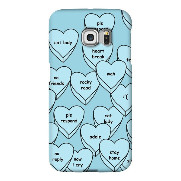 Blue Hearts Smartphone Case-Gooten-Samsung S6 Edge-| All-Over-Print Everywhere - Designed to Make You Smile