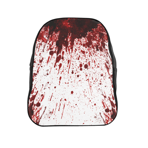 Blood Splatter Backpack-Printify-| All-Over-Print Everywhere - Designed to Make You Smile