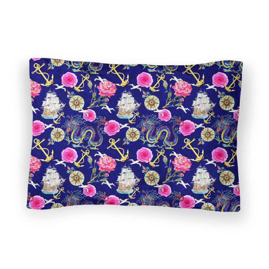 At Sea Bed Pillow Case-Shelfies-| All-Over-Print Everywhere - Designed to Make You Smile
