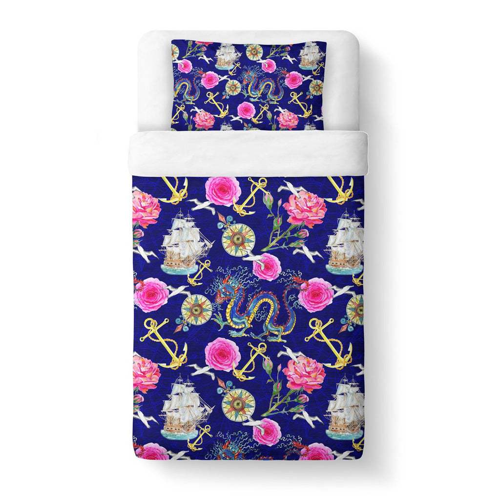 At Sea Duvet Cover-Shelfies-Twin-| All-Over-Print Everywhere - Designed to Make You Smile