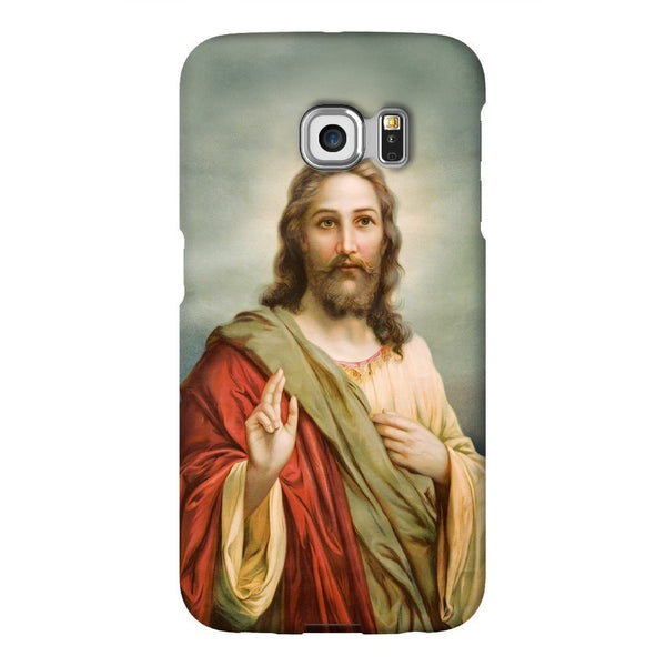 Holy Jesus Smartphone Case-Gooten-Samsung S6 Edge-| All-Over-Print Everywhere - Designed to Make You Smile