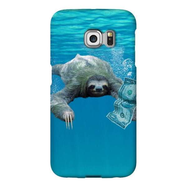 Nirvana Sloth Smartphone Case-Gooten-Samsung Galaxy S6 Edge-| All-Over-Print Everywhere - Designed to Make You Smile