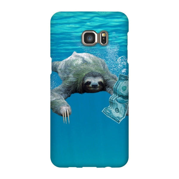 Nirvana Sloth Smartphone Case-Gooten-Samsung Galaxy S6 Edge Plus-| All-Over-Print Everywhere - Designed to Make You Smile