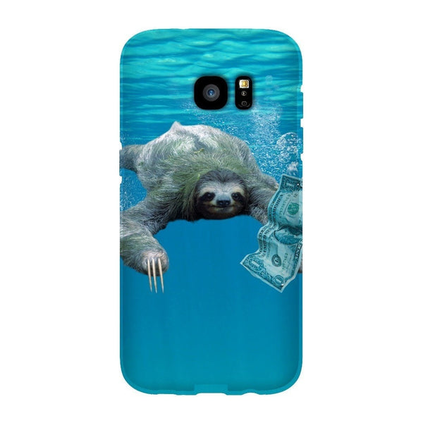 Nirvana Sloth Smartphone Case-Gooten-Samsung Galaxy S7 Edge-| All-Over-Print Everywhere - Designed to Make You Smile