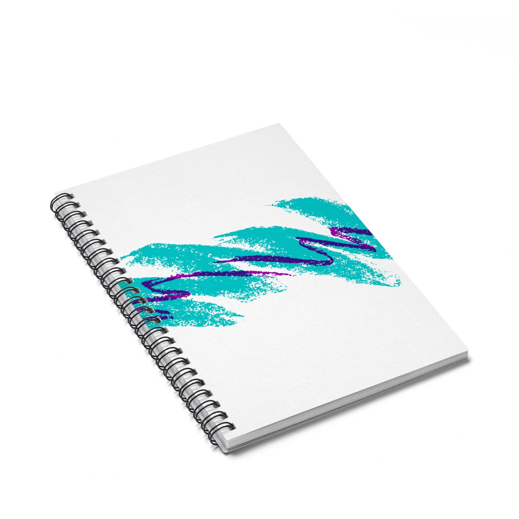 Jazz Wave Spiral Notebook-Printify-Spiral Notebook-| All-Over-Print Everywhere - Designed to Make You Smile