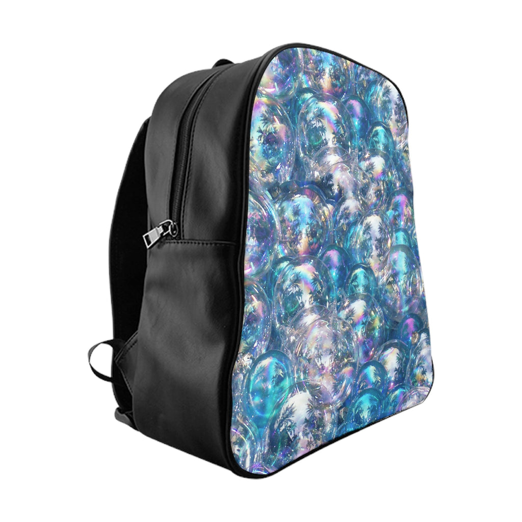Bubbles Invasion Backpack-Printify-Large-| All-Over-Print Everywhere - Designed to Make You Smile