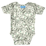 "Money Invasion ""Baller"" Baby Onesie-Shelfies-
