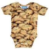 Cookies Invasion Baby Onesie-Shelfies-| All-Over-Print Everywhere - Designed to Make You Smile