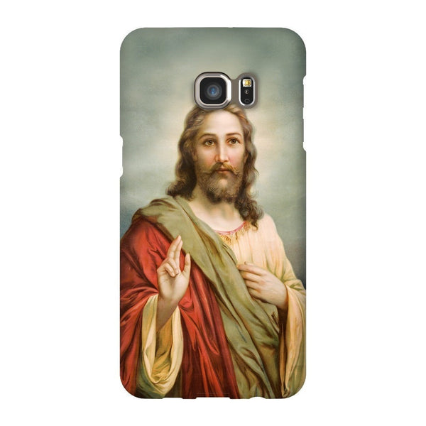 Holy Jesus Smartphone Case-Gooten-Samsung S6 Edge Plus-| All-Over-Print Everywhere - Designed to Make You Smile
