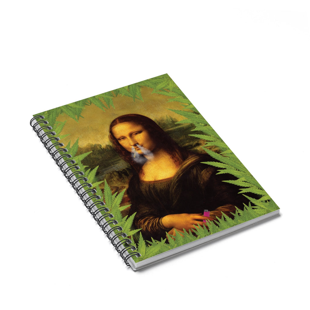 Stoner Liza Spiral Notebook-Printify-Spiral Notebook-| All-Over-Print Everywhere - Designed to Make You Smile