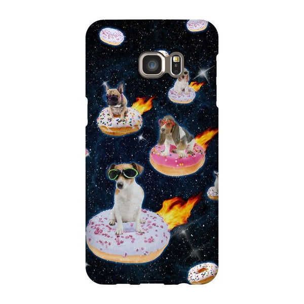 Dogs N' Donuts Smartphone Case-Gooten-Samsung S6 Edge Plus-| All-Over-Print Everywhere - Designed to Make You Smile