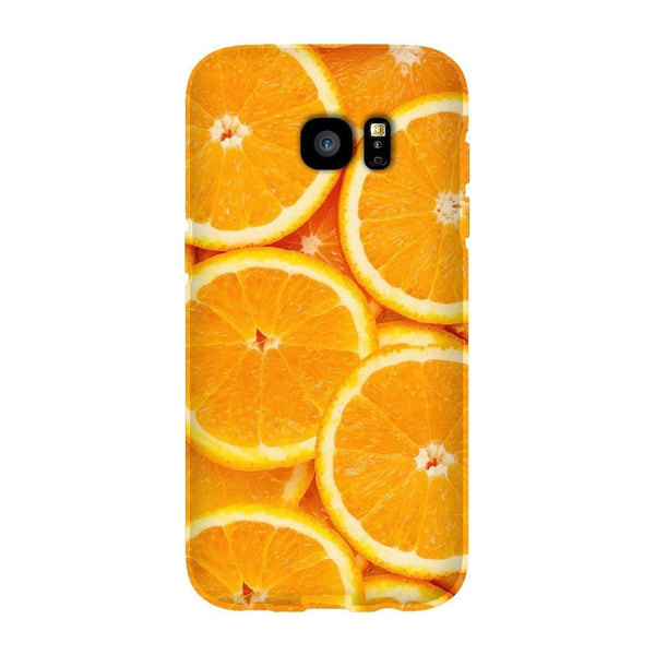 Oranges Invasion Smartphone Case-Gooten-Samsung S7 Edge-| All-Over-Print Everywhere - Designed to Make You Smile