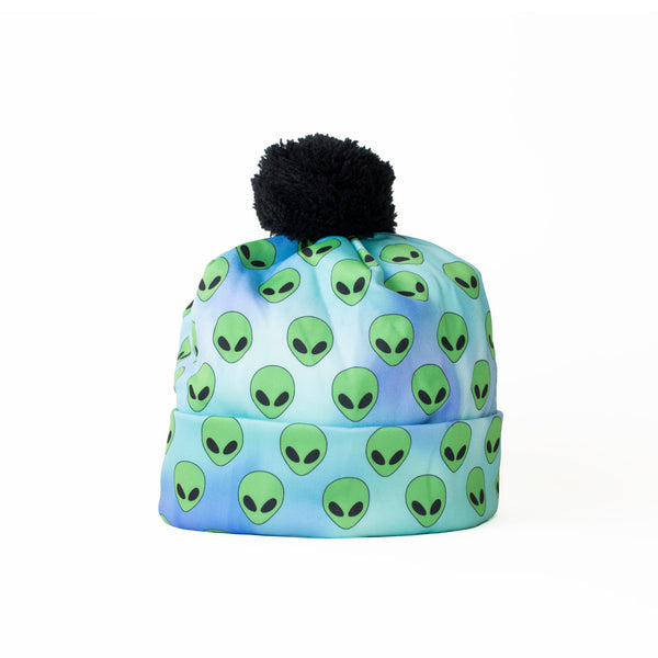 Alienz Beanie Hat-Shelfies-| All-Over-Print Everywhere - Designed to Make You Smile