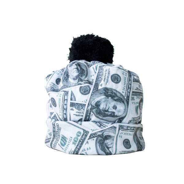 "Money Invasion ""Baller"" Beanie Hat-Shelfies-