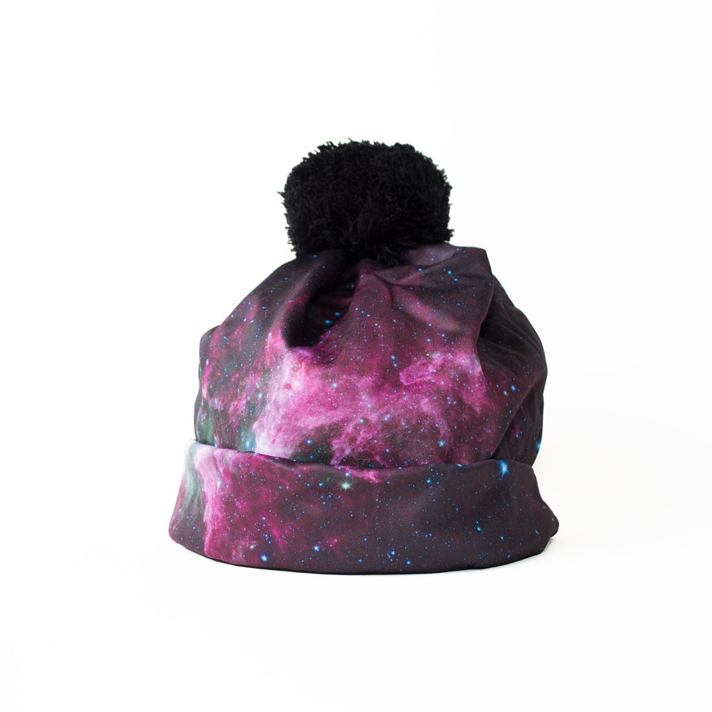 Triangulum Galaxy Beanie Hat-Shelfies-One Size-| All-Over-Print Everywhere - Designed to Make You Smile