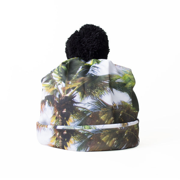 Tropical Paradise Beanie Hat-Shelfies-One Size-| All-Over-Print Everywhere - Designed to Make You Smile