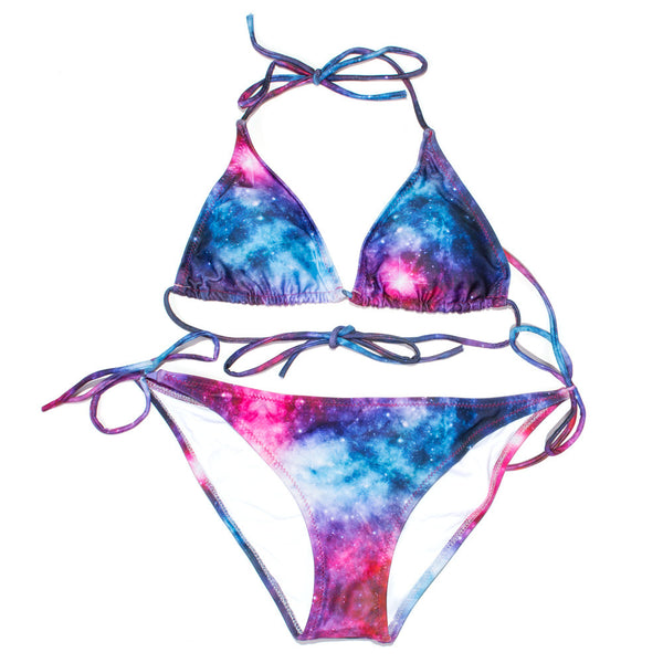 Galaxy Love Bikini-Shelfies-S-S-| All-Over-Print Everywhere - Designed to Make You Smile