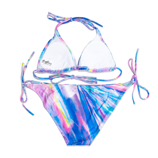 Holographic Foil Bikini-Shelfies-| All-Over-Print Everywhere - Designed to Make You Smile