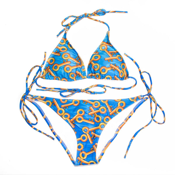 Keys to Success Bikini-Shelfies-| All-Over-Print Everywhere - Designed to Make You Smile