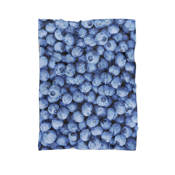 Blueberry Invasion Blanket-Gooten-Cuddle-| All-Over-Print Everywhere - Designed to Make You Smile
